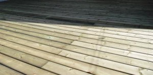 Pressure Treated Deck Coverings