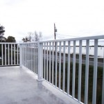 Aluminum railings top mount
