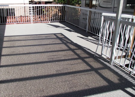 """Vinyl Deck Covering"""