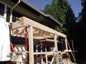 Deck Repair in West Vancouver
