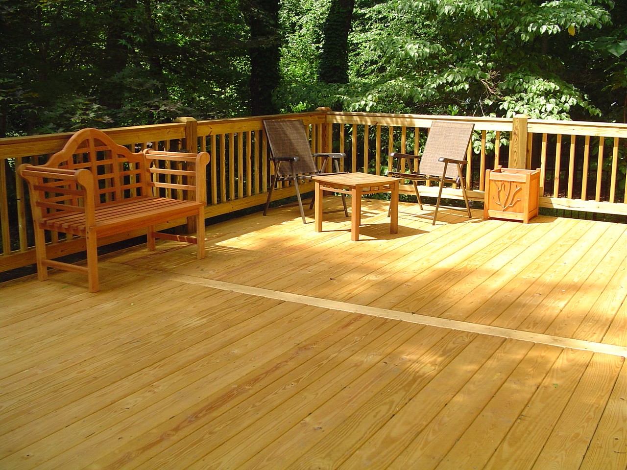 Wood decks wood decking contractor in vancouver for Pressure treated decking