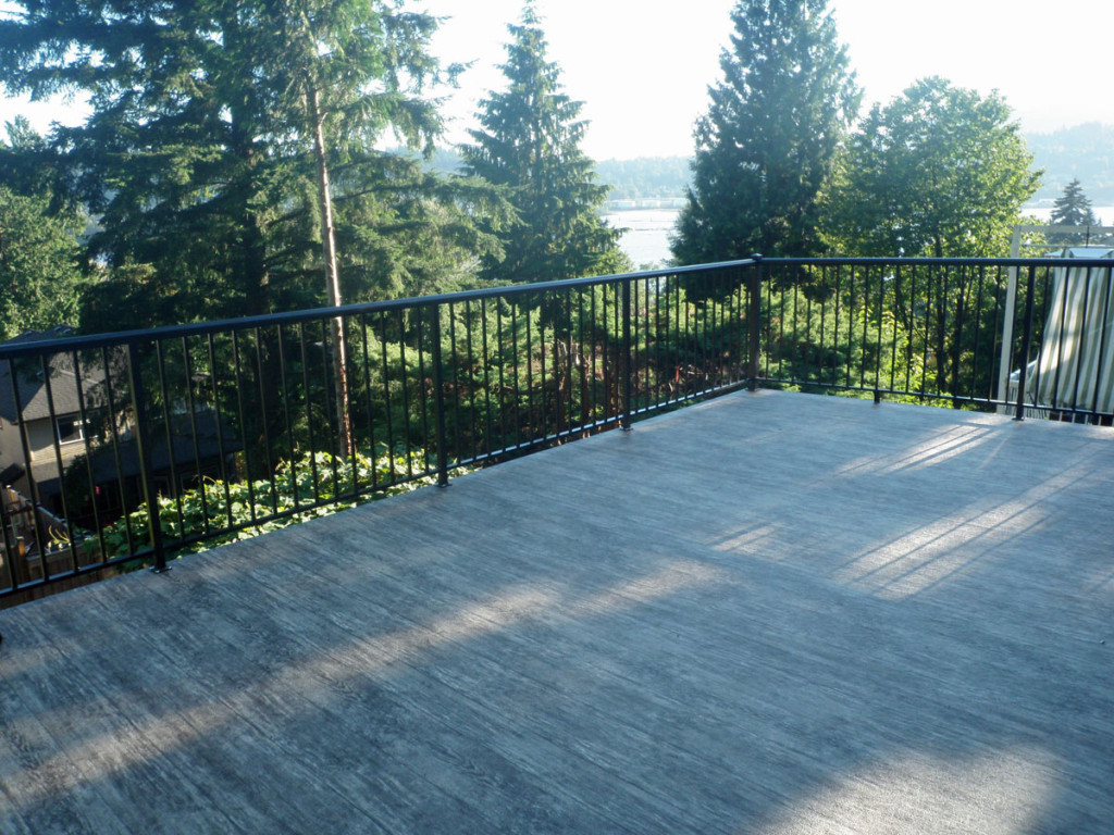 Waterproof Vinyl decking
