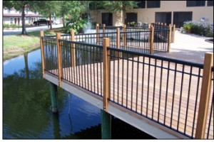 Decorative custom railings