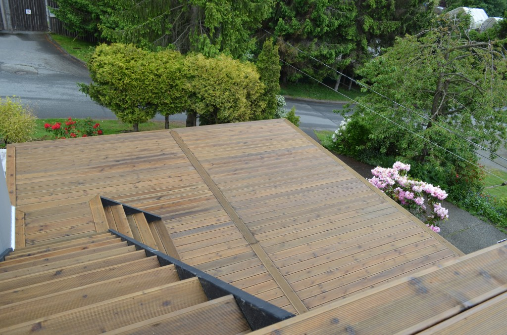 Deck Construction in White Rock