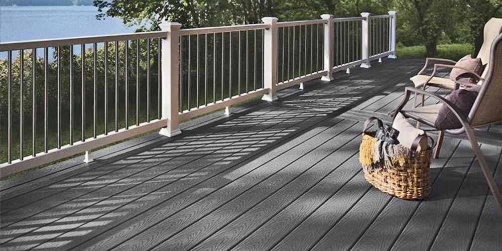 Trex Winchester Grey Composite Decking