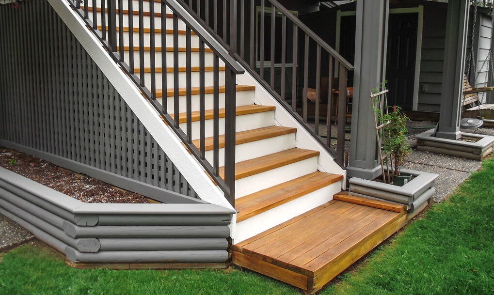 Aluminum Picket Deck Railing