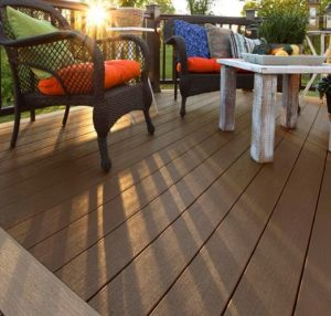 Rustic Elm Best Composite Deck