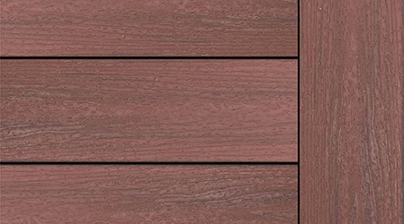 Sunset Cove Composite Decking Sample