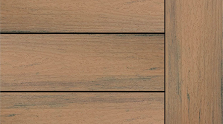 Toasted Sand Composite Decking Sample