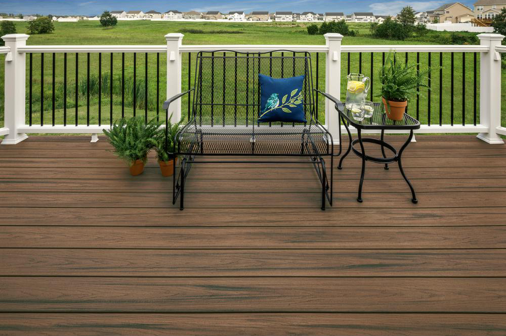 Toasted Sand Composite Decking Surface