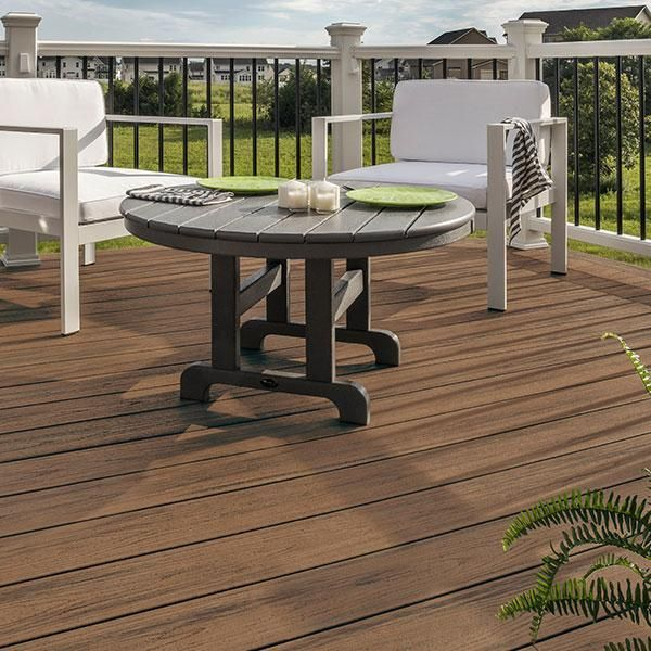 Toasted Sand Plastic Decking